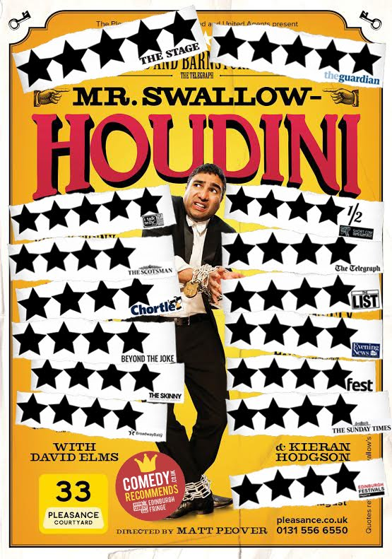 Mr Swallow Houdini
